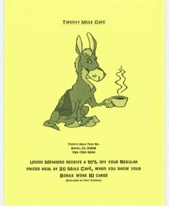 Twenty Mule Cafe